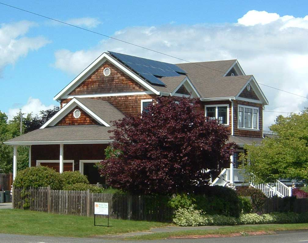 Schmitt Residence, 3KW, Port Townsend, 2008