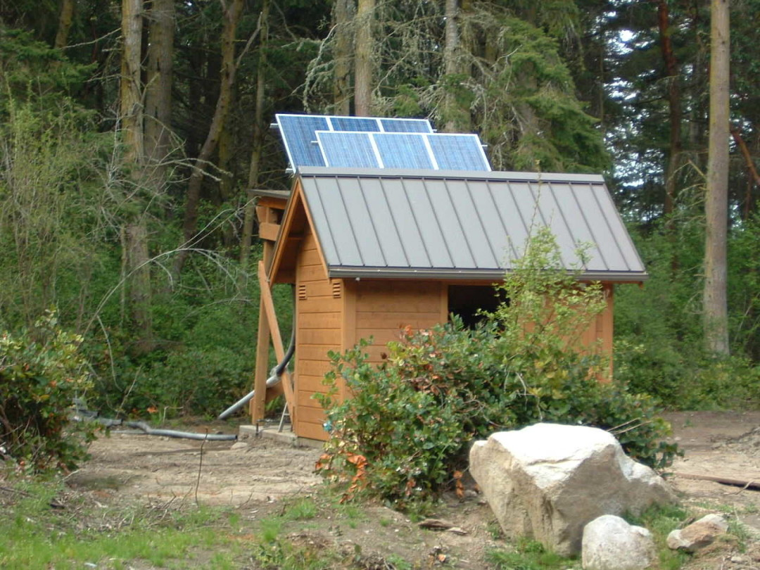 Secord Residence, 1KW, Off Grid, Marrowstone Island, 2005