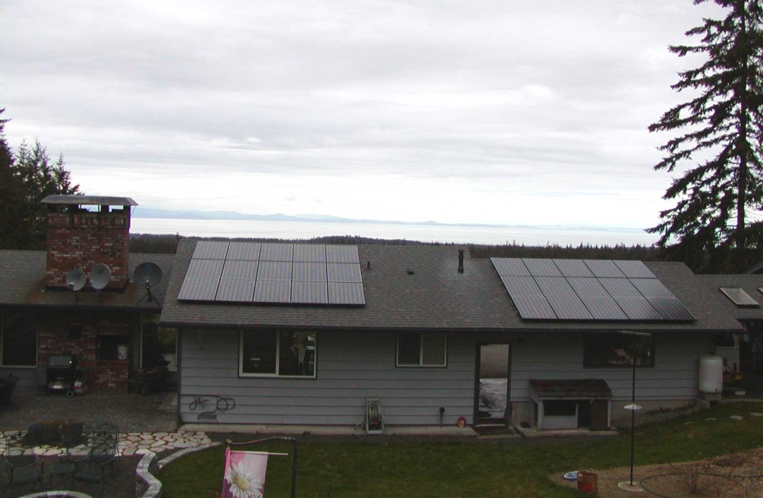 Straitview – Siebrands Residence, 6 KW, Port Angeles, 2008