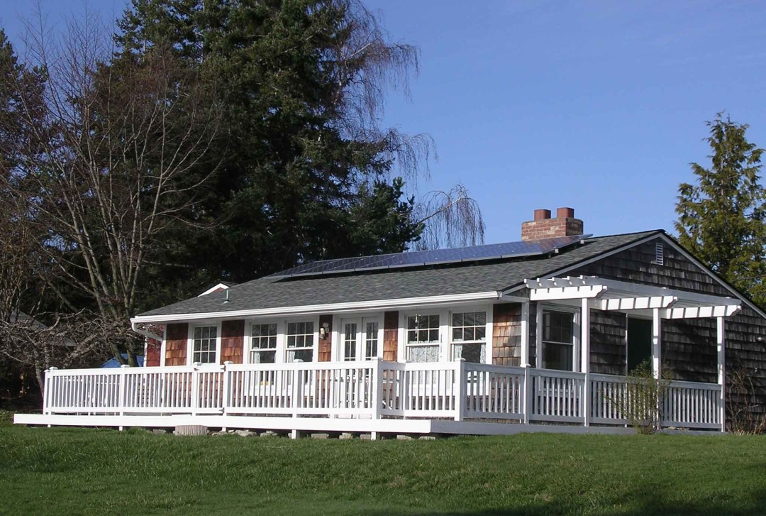Testerman Cottage, 1.88 KW, Guemes Island, 2010