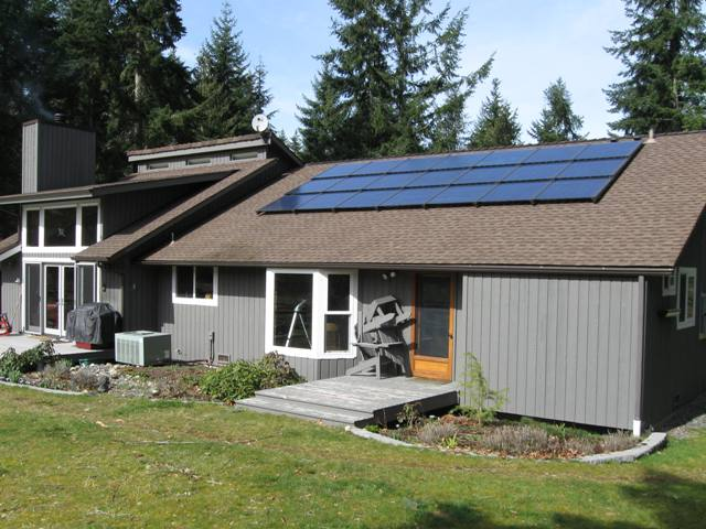 Urness Residence, 4.095 KW, Port Angeles, 2011