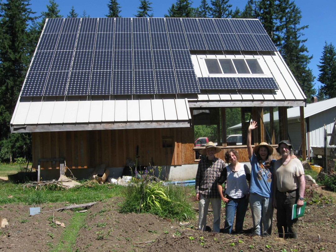 Vanderhoof Residence, 10.12 KW, Port Angeles, 2010