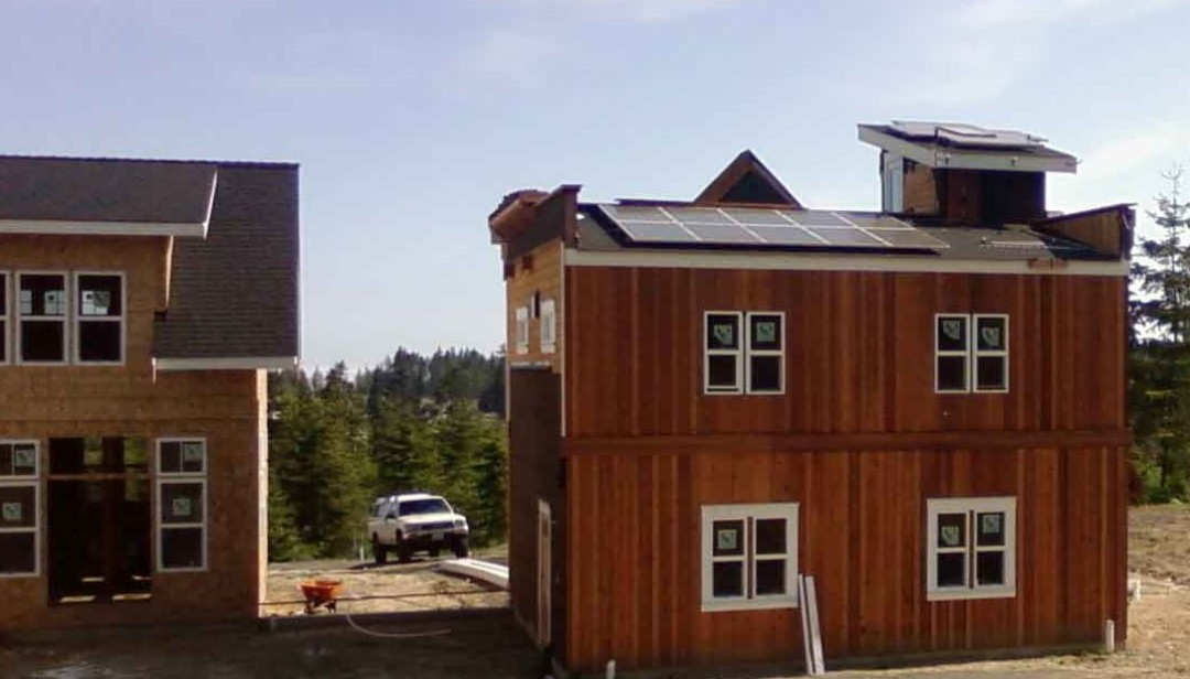 Wallace Residence, 2.52 KW, Port Angeles, 2007