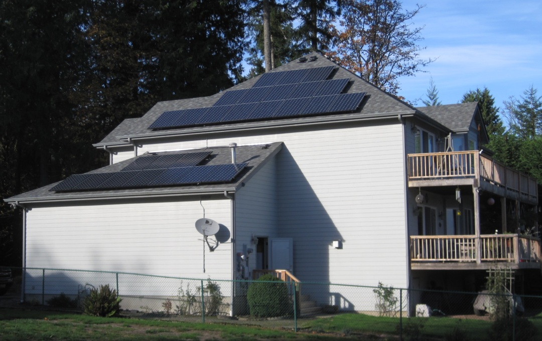 Middaugh Residence, 8.5 KW, Port Orchard, 2014