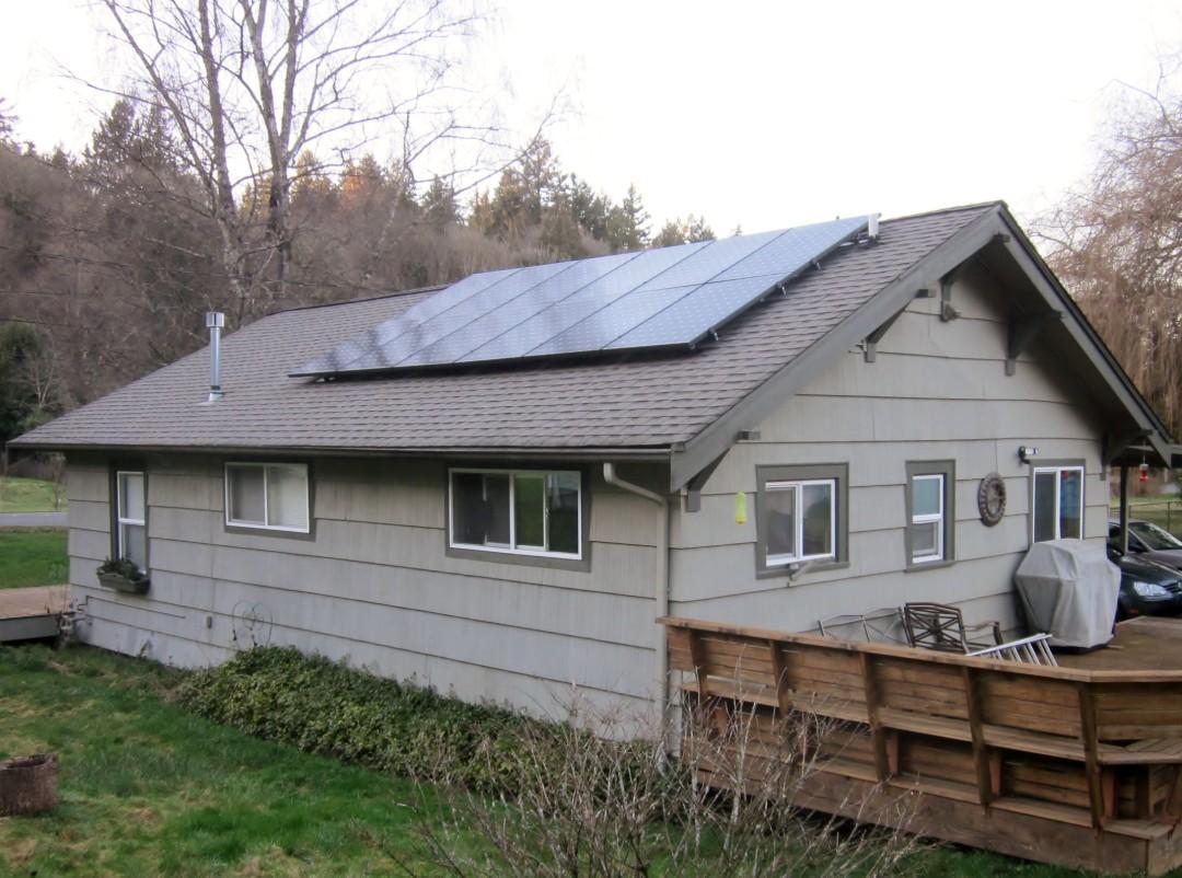 Residence, 3.92 KW, Bremerton, 2015