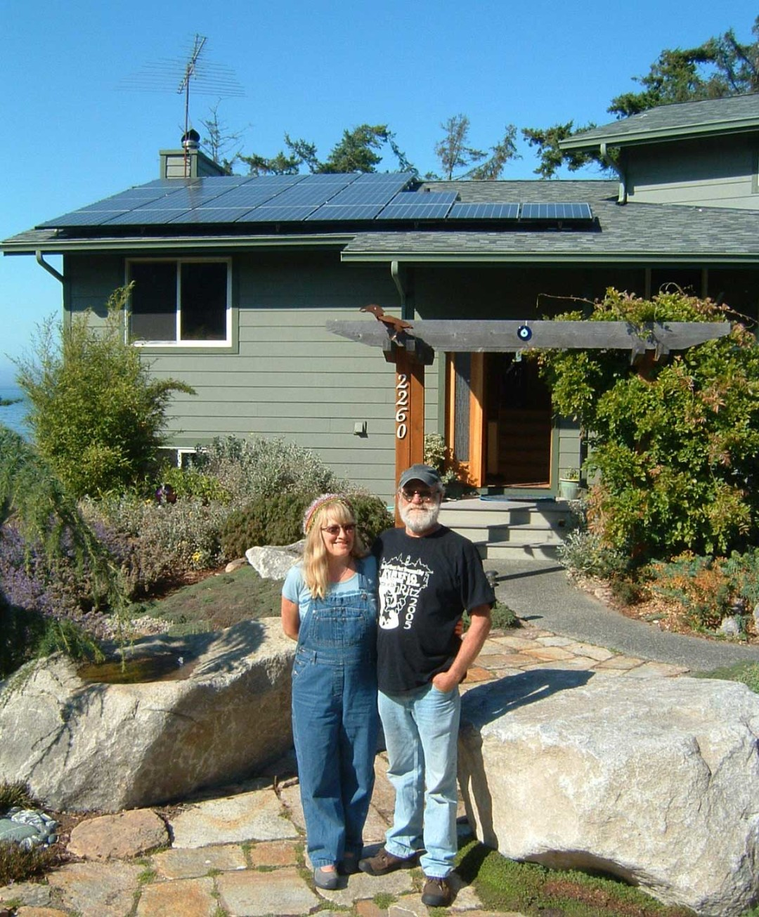 Main-West Residence, 4.8 KW, Port Townsend, 2008