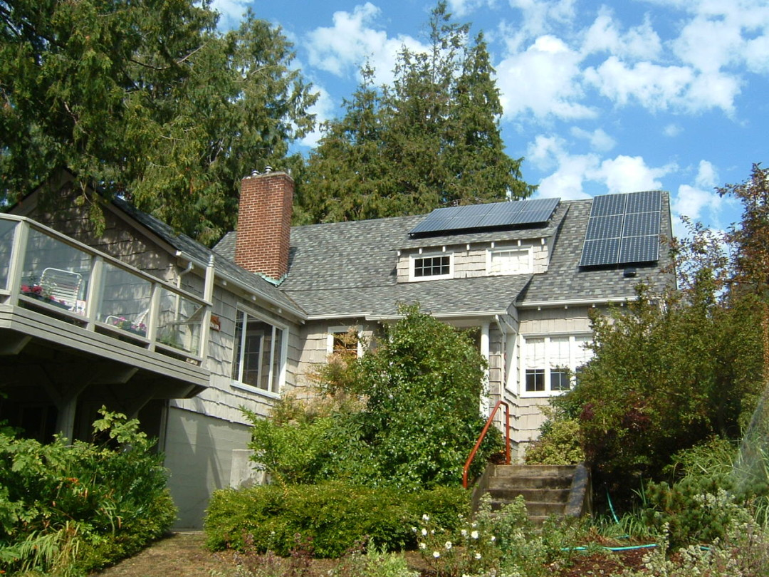 Whitney Residence, 2.8 KW, Port Townsend, 2007