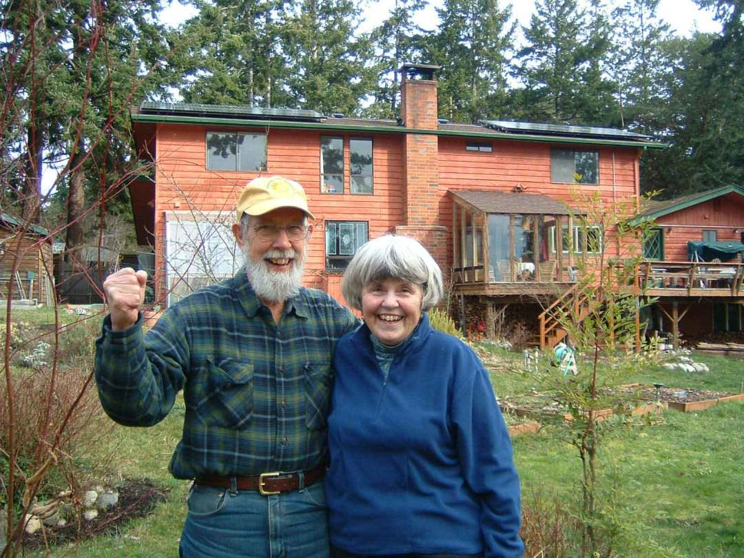Willard Residence, 4.8 KW, Port Townsend, 2009