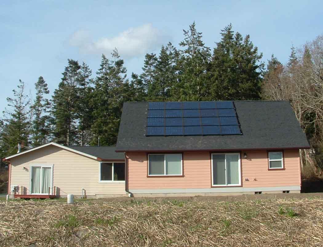 Dwight-Ashley Residence, 3.4 KW, Oak Harbor, 2010