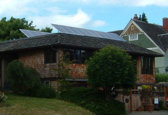 Clise Residence, 3.6 KW, Port Townsend, 2007