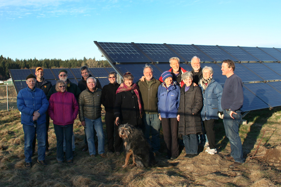 Jefferson Solar Group, community solar, SiE, Dec 2011