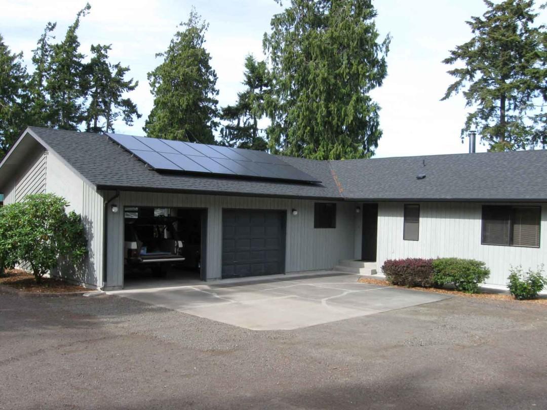 Schrader Residence, 3.22 KW, Sequim, 2010