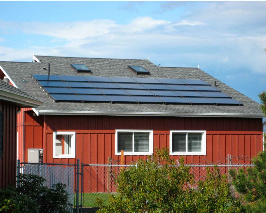 Wohlgemuth Residence, 4.76 KW, Sequim, 2010